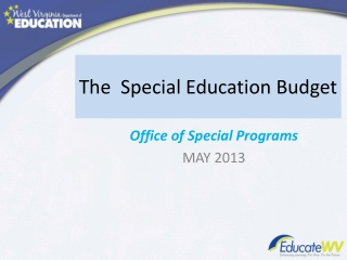 The  Special Education Budget
