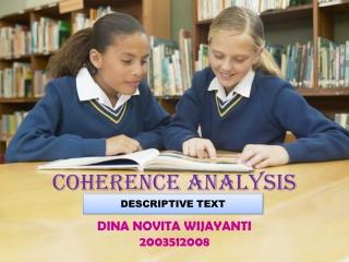 COHERENCE analysis