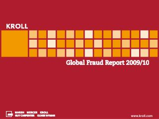 Kroll Global Fraud Report 2009-2010