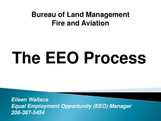 Bureau of Land Management  Fire and Aviation