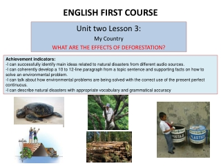 ENGLISH FIRST COURSE