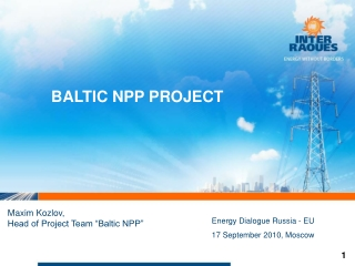 BALTIC NPP PROJECT
