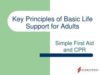 Key Principles of Basic Life Support for Adults