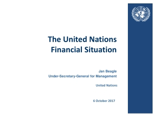 The United Nations Financial Situation