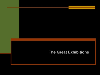 The Great Exhibition;