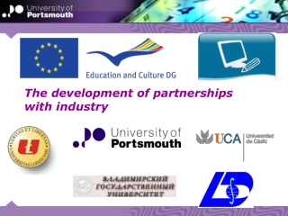 The development of partnerships with industry
