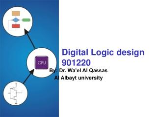 Digital Logic design 901220