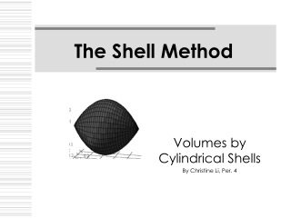 The Shell Method