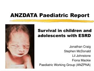 ANZDATA Paediatric Report