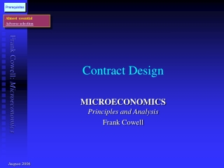 Contract Design