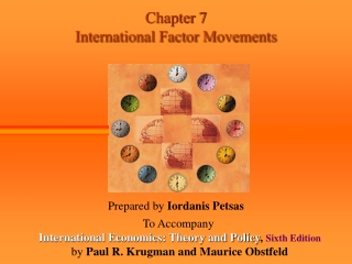 Chapter 7 International Factor Movements