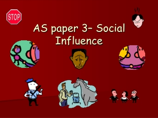 AS paper 3– Social Influence