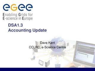DSA1.3  Accounting Update