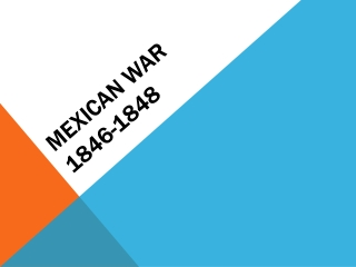 Mexican War 1846-1848