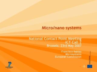 Micro/nano systems