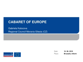 CABARET OF EUROPE
