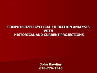 John Rawlins 678-776-1343