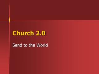 Church 2.0