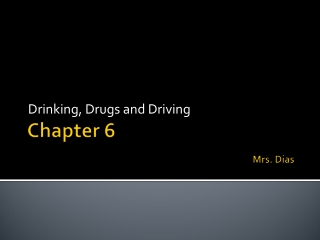 Chapter 6 Mrs. Dias