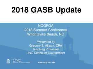2018 GASB Update
