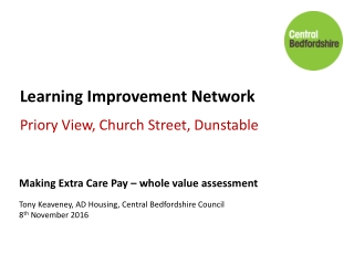 Learning Improvement Network  Priory View, Church Street, Dunstable