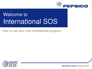 Welcome to  International SOS