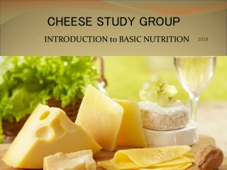 CHEESE STUDY GROUP