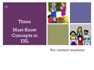 For content teachers