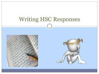Writing HSC Responses