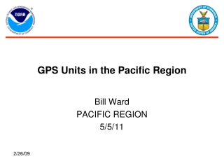 GPS Units in the Pacific Region