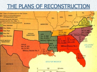 THE PLANS OF RECONSTRUCTION