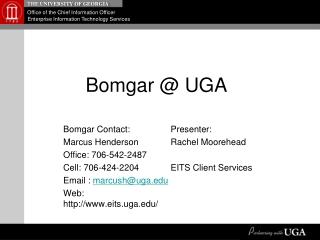 Bomgar @ UGA