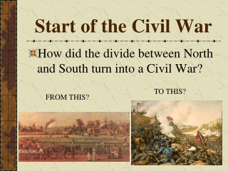 Start of the Civil War