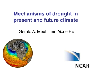 Mechanisms of drought in present and future climate