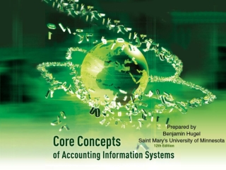 Chapter 7: Accounting Information Systems and Business Processes - Part I