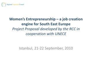 Istanbul, 21-22 September, 2010