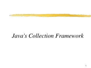 Java's Collection Framework