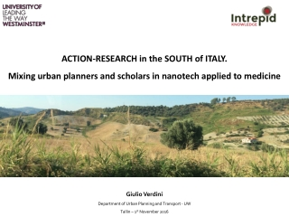 ACTION-RESEARCH in the SOUTH of ITALY.