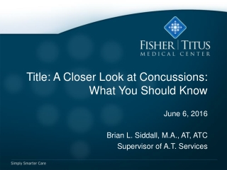 Title: A Closer Look at Concussions: What You Should Know