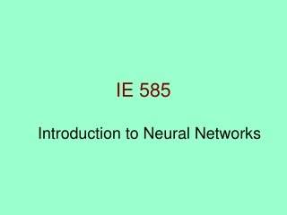 IE 585