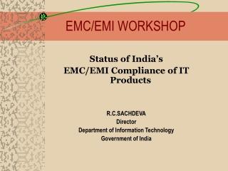 EMC/EMI WORKSHOP