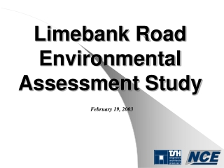 Limebank Road Environmental Assessment Study