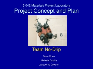 3.042 Materials Project Laboratory Project Concept and Plan