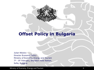 Offset Policy in Bulgaria