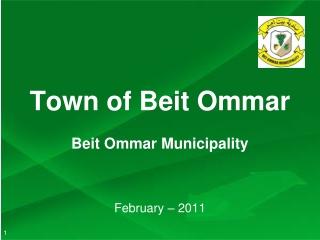 Town of Beit Ommar