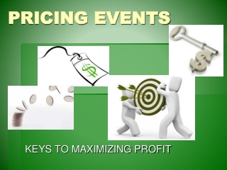 PRICING EVENTS