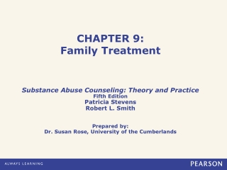 CHAPTER 9: Family Treatment