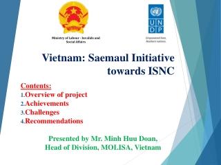 Vietnam: Saemaul Initiative towards ISNC