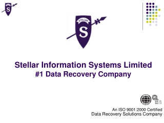 Stellar  Information  Systems Limited #1 Data Recovery Company