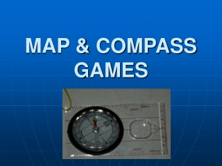 MAP & COMPASS GAMES